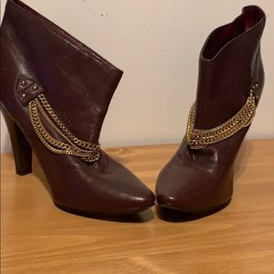 Marc Jacobs chain booties